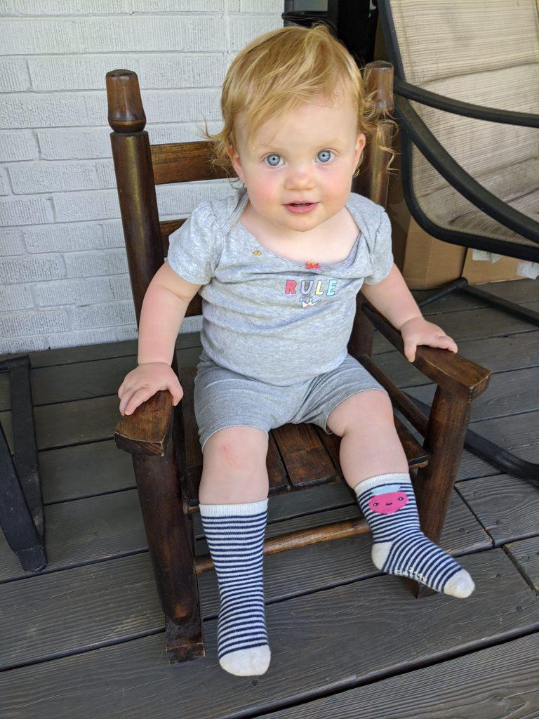 Rob's daughter, Maren.